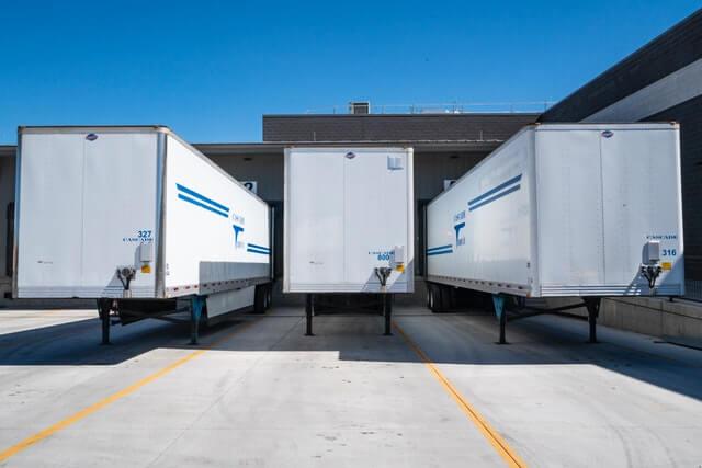 Three Cargo Trailers